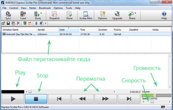 программа для транскрибации