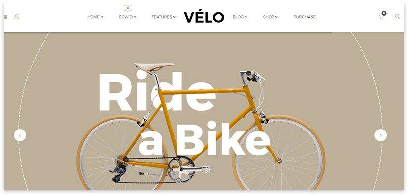 велосипед тема вордпресс