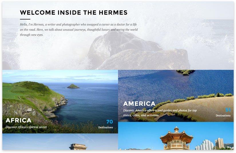 hermes путешествия