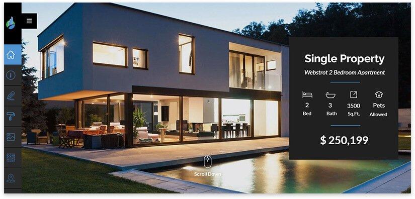 шаблоны для сайта недвижимости