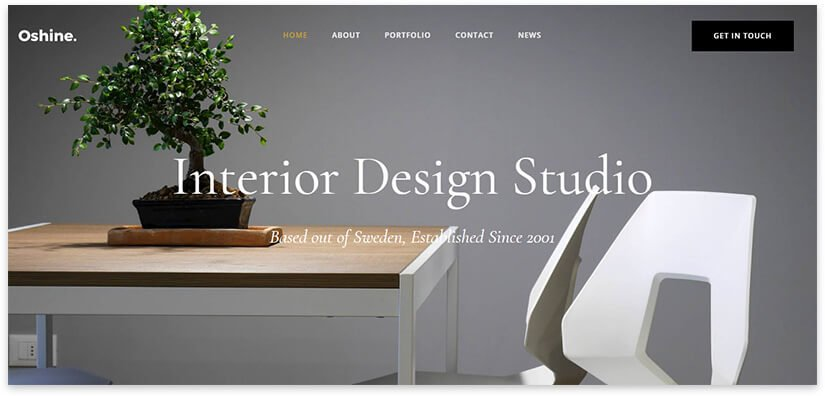 interior design studio