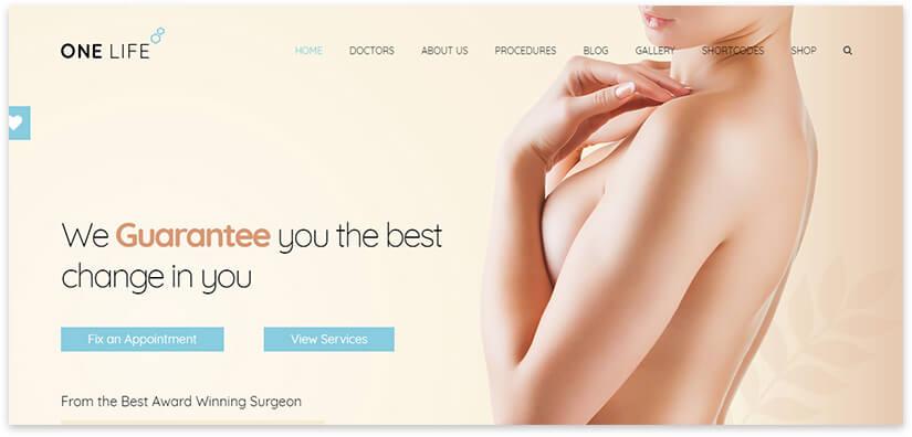 Сайт пластической хирургии