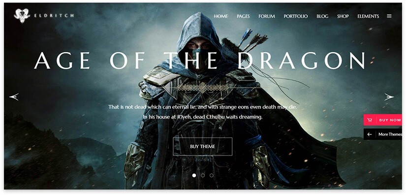 game themes wordpress