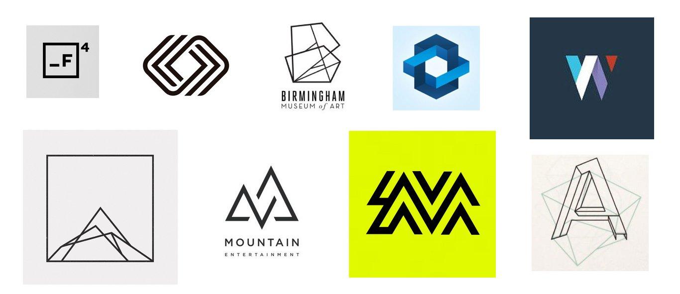 геометрические лого примеры