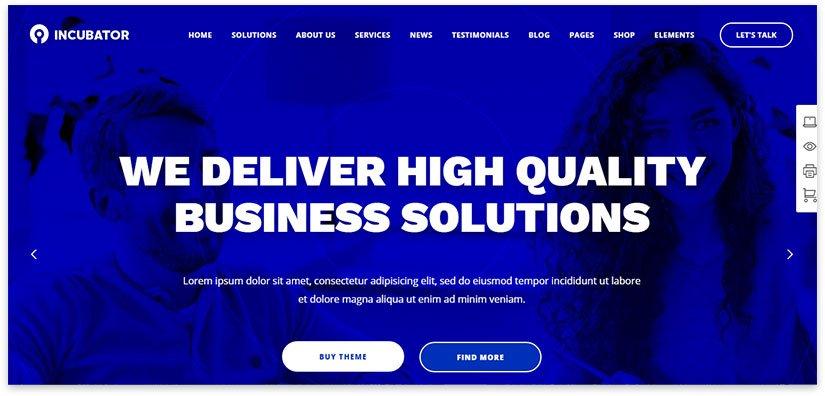 бизнес инкубатор тема