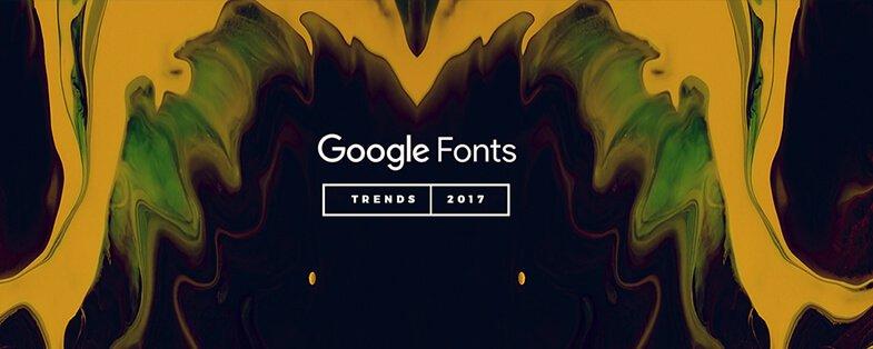 Тренды Google Fonts