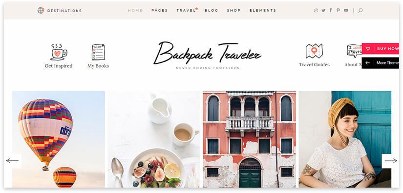 туризм шаблон сайта