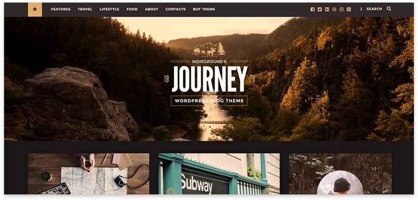 journey wordpress