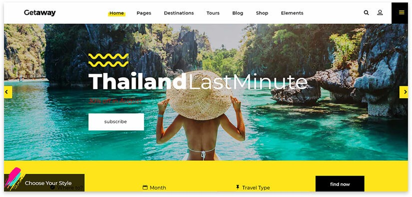 блог для путешествий