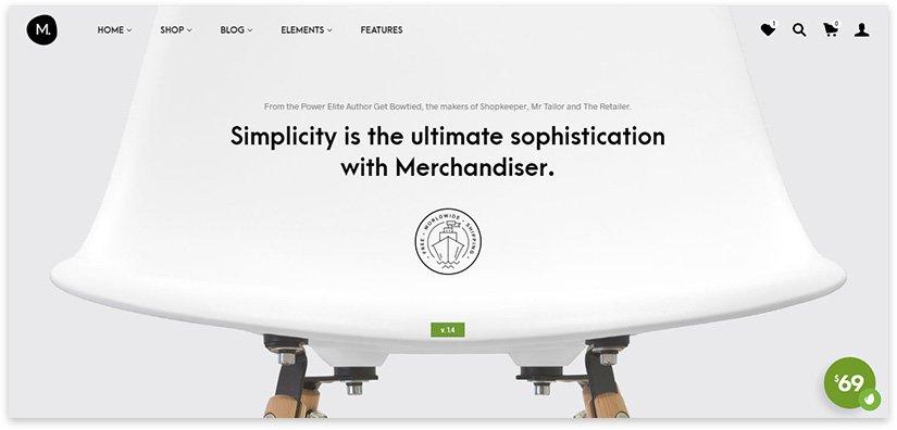 шаблоны сайтов минимализм