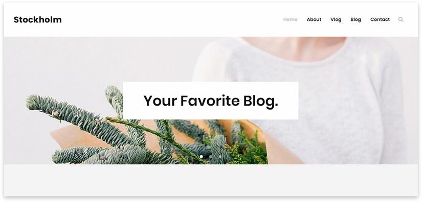stockholm блог