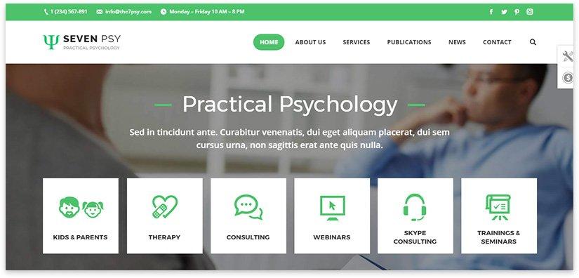 Сайт по психологии