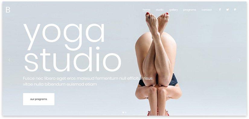 Сайт по йоги