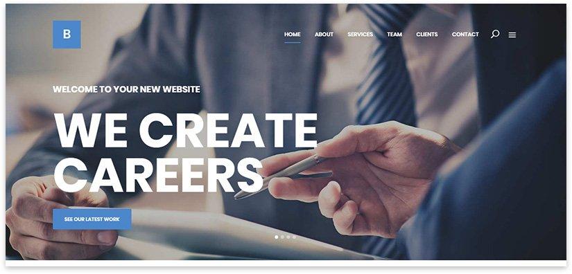 Веб ресурс по бизнес тематике