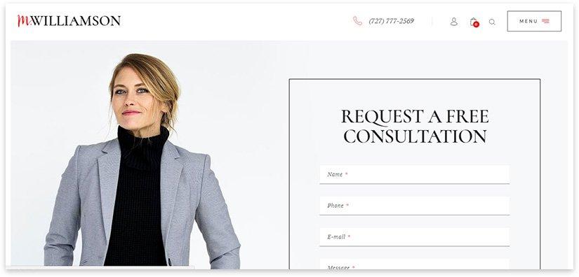 Шаблон личного сайта на вордпресс