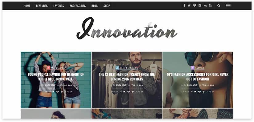 magazine innovation