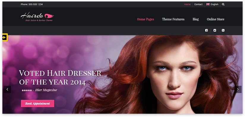 Сайт по уходу за волосами
