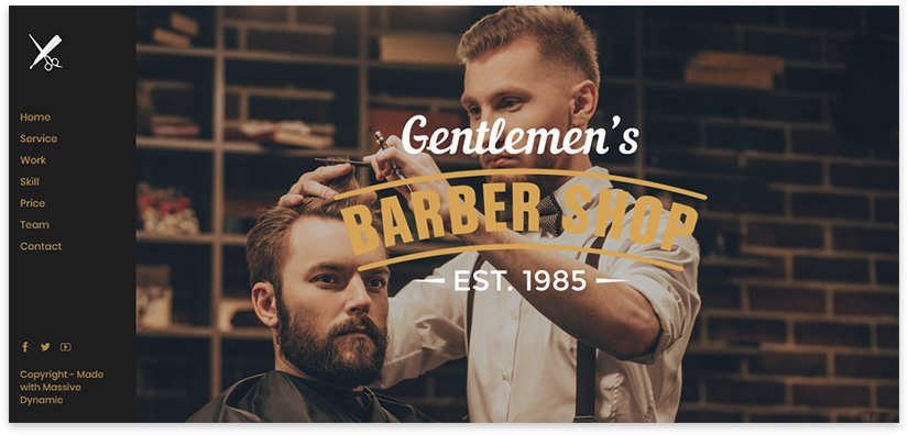 gentlemen barber shop