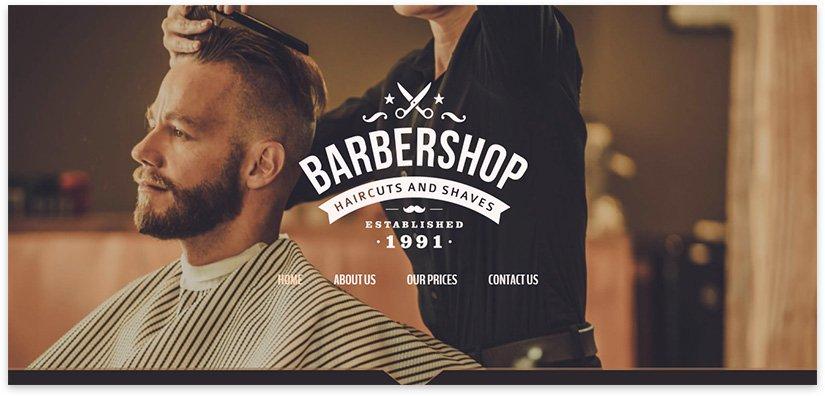 сайт для парикмахерской