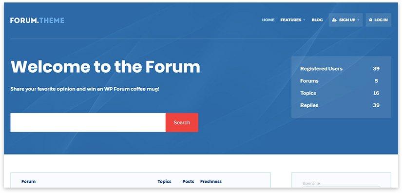 blue forum