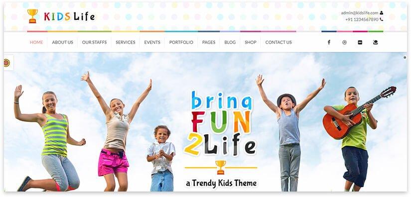 сайт про детский сад