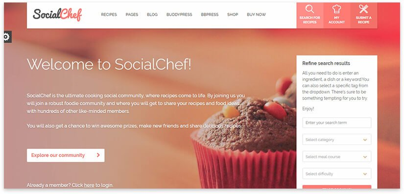 сайт кулинара