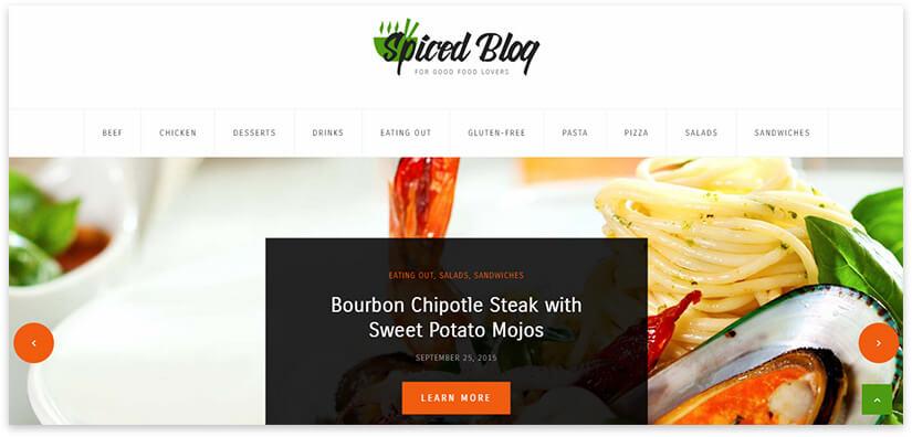 блог с рецептами