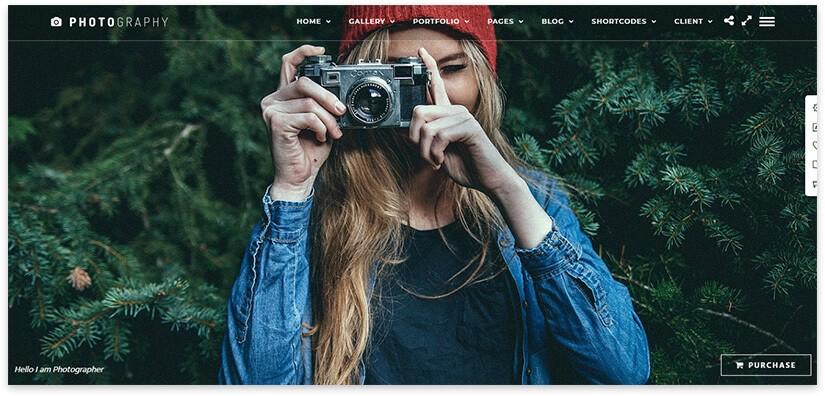 сайт по фотографии