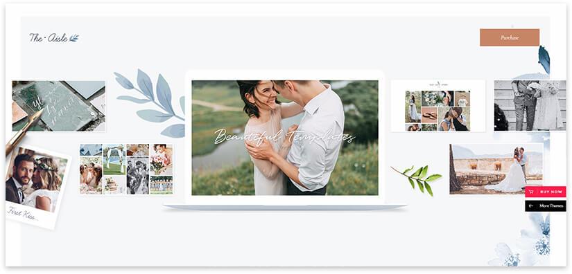свадебная тема сайта