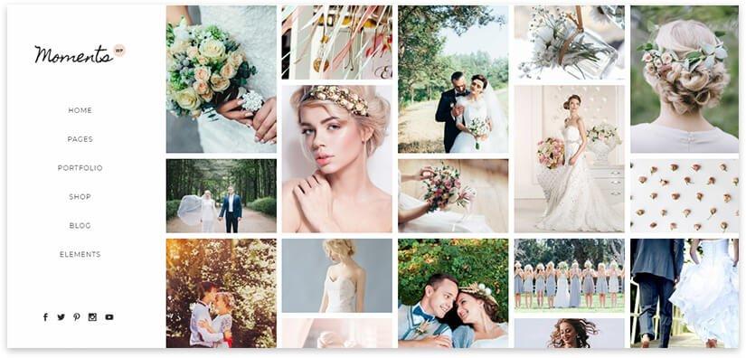 Шаблон свадебного фотографа