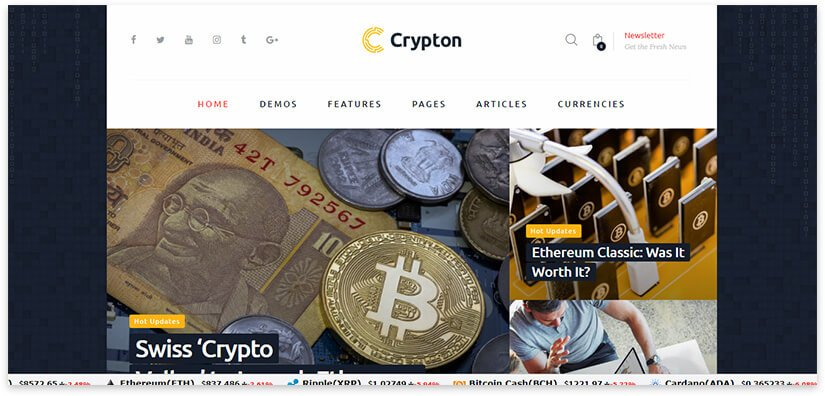 Блог про Криптовалюту