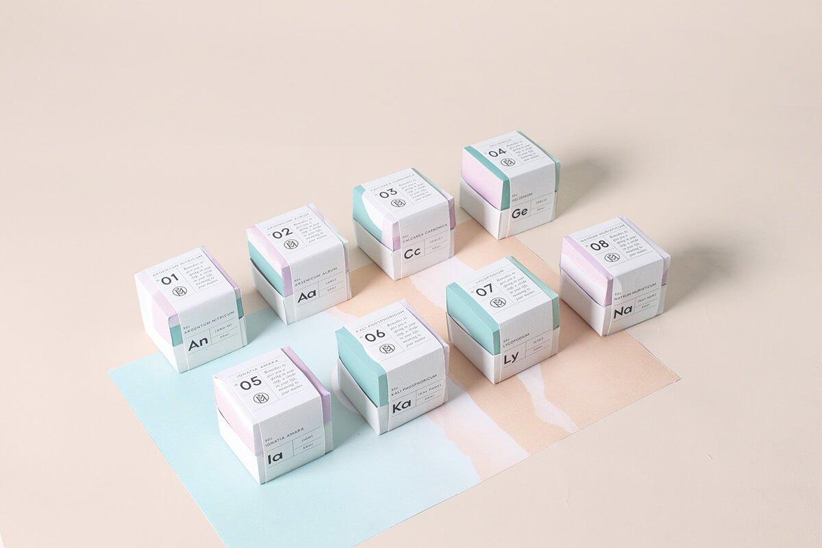 flat дизайн упаковки