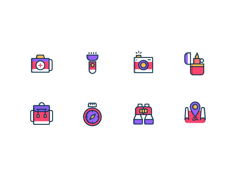 цветные иконки для сайта