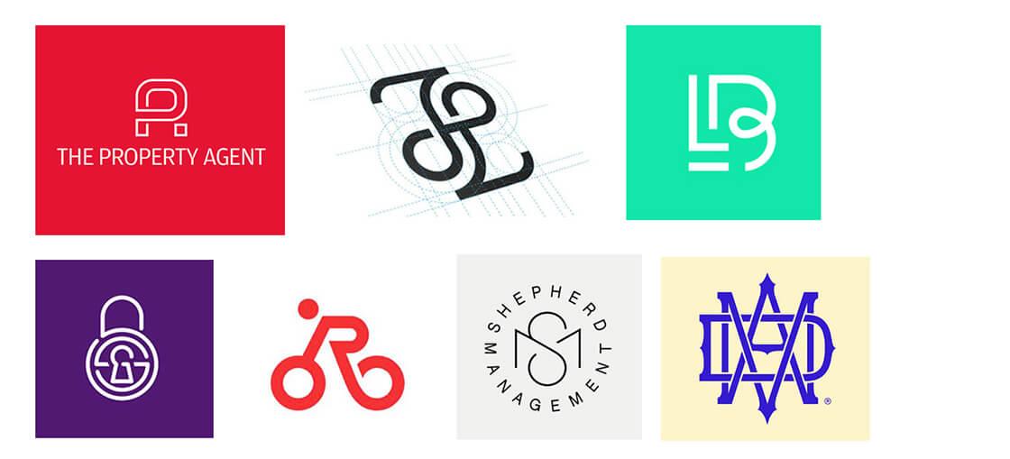 monograms logos