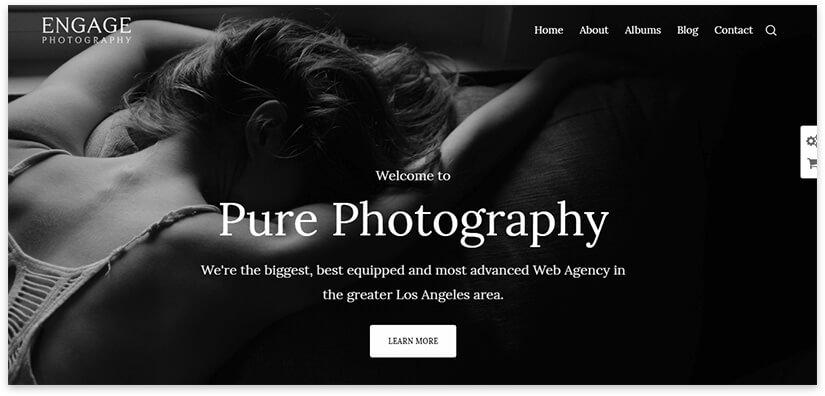 photography тема вордпресс