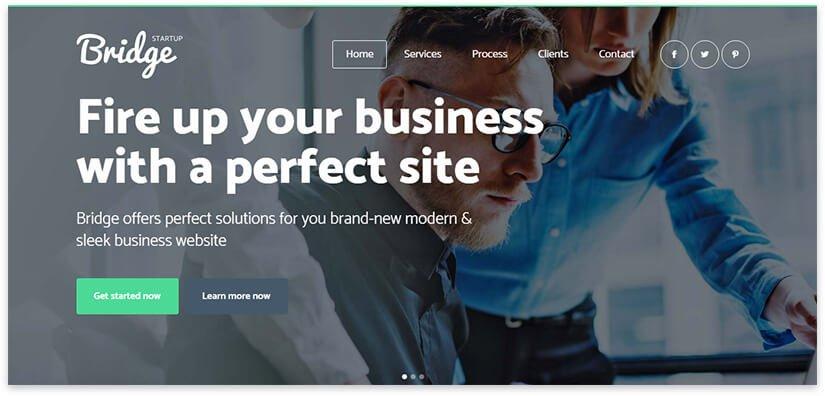 Шаблон сайта бизнес агенства