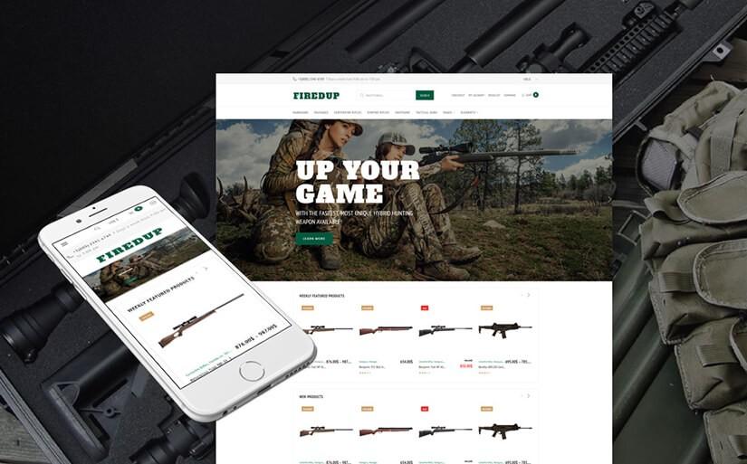 онлайн магазин оружия
