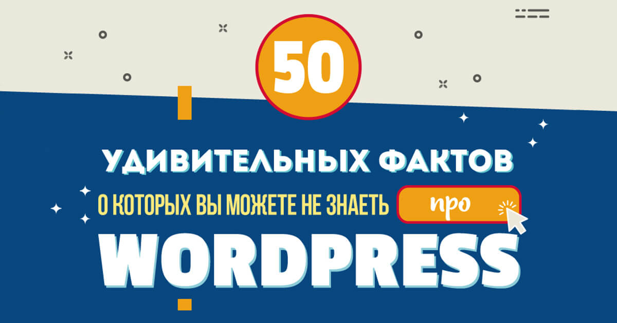 50 фактов о Wordpress