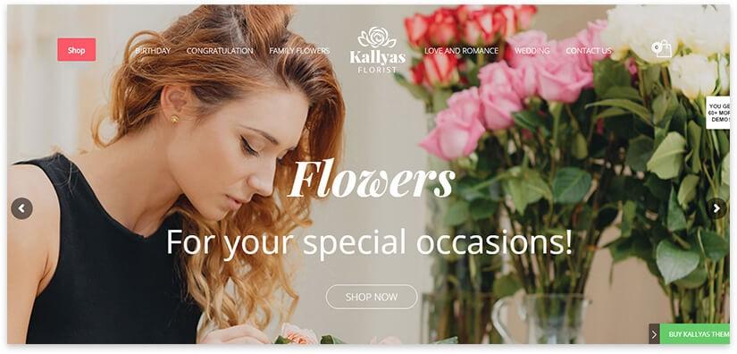 сайт магазин цветов
