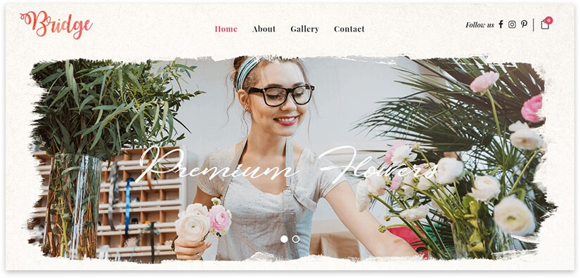 wordpress florist
