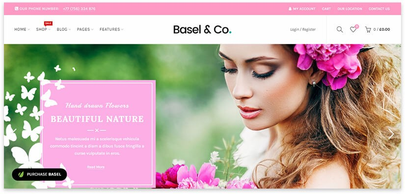 сайт про цветы