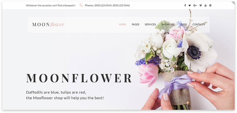 flower wp
