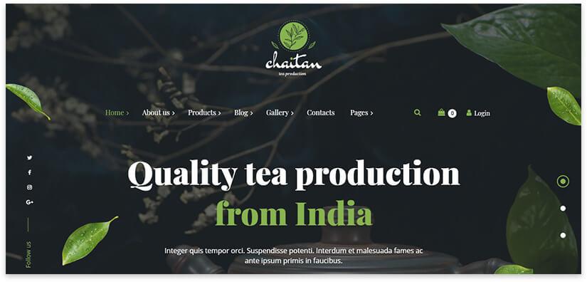 чай из индии