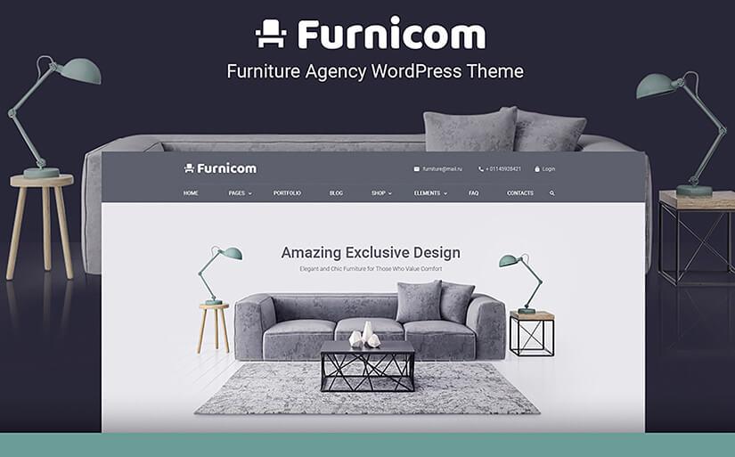 мебельный шаблон сайта
