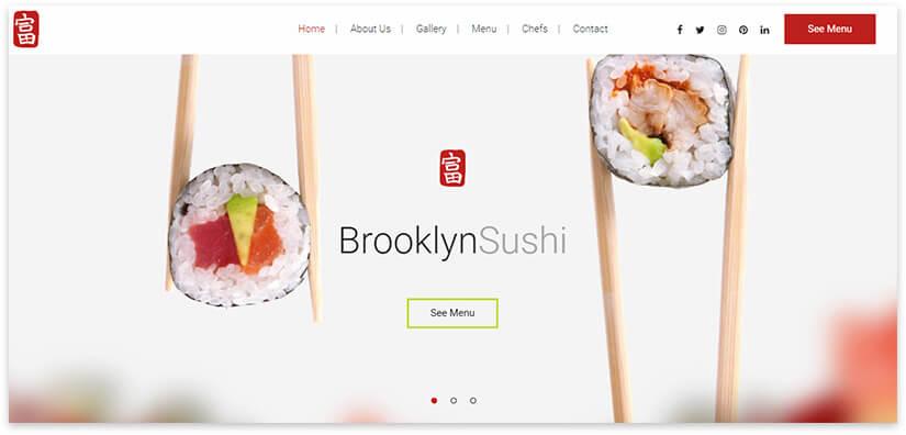 сайт заказ суши онлайн