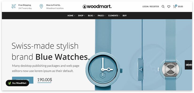 woodmart - лучший интернет магазин