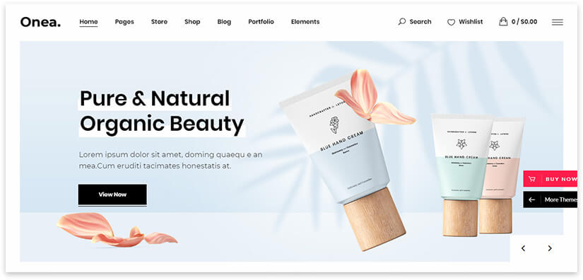 Шаблон WordPress Cosmetics