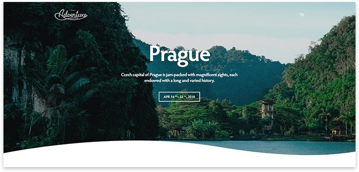 30+ WordPress шаблонов на тему туризм, путешествия, travel блог 2021 года