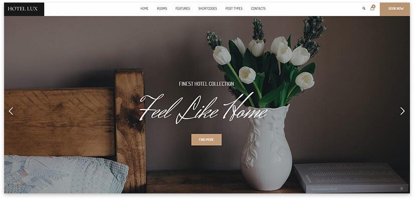 Сайт для апартаментов