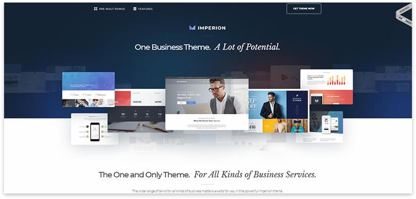 Бизнес тема для сайта